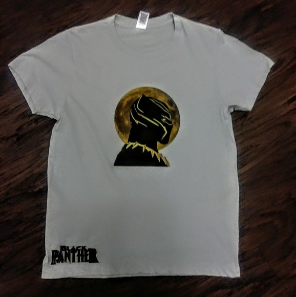 5d084e06 Shirts & Tops | Black Panther Kids Tee | Poshmark
